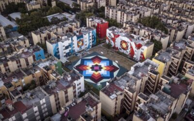Urban Art to Cheer Up Cities: collective Boa Mistura
