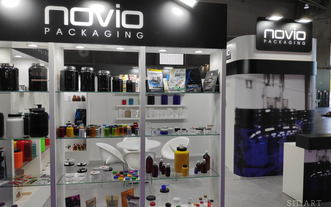 Our stand for Novio Packaging at the biggest 'multisport' event in Europe: ACE 2019