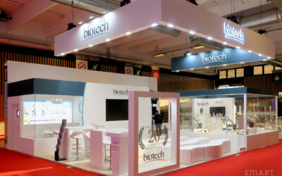 Outstanding: 3 stands delivered in Paris for the ESCRS Congress!