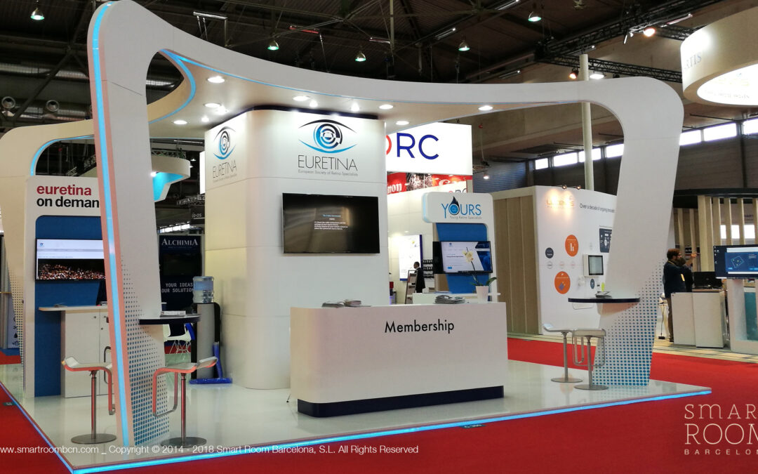 Four stands in EURETINA and ESCRS 2018 in Vienna. Outsanding participation again!