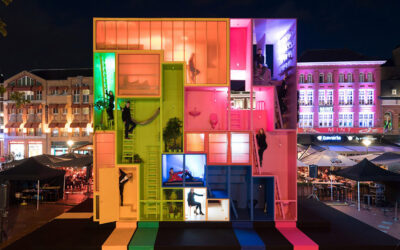 Colorful, Playful, Modular and Minimal: Conceptual Building Design for Modern Living