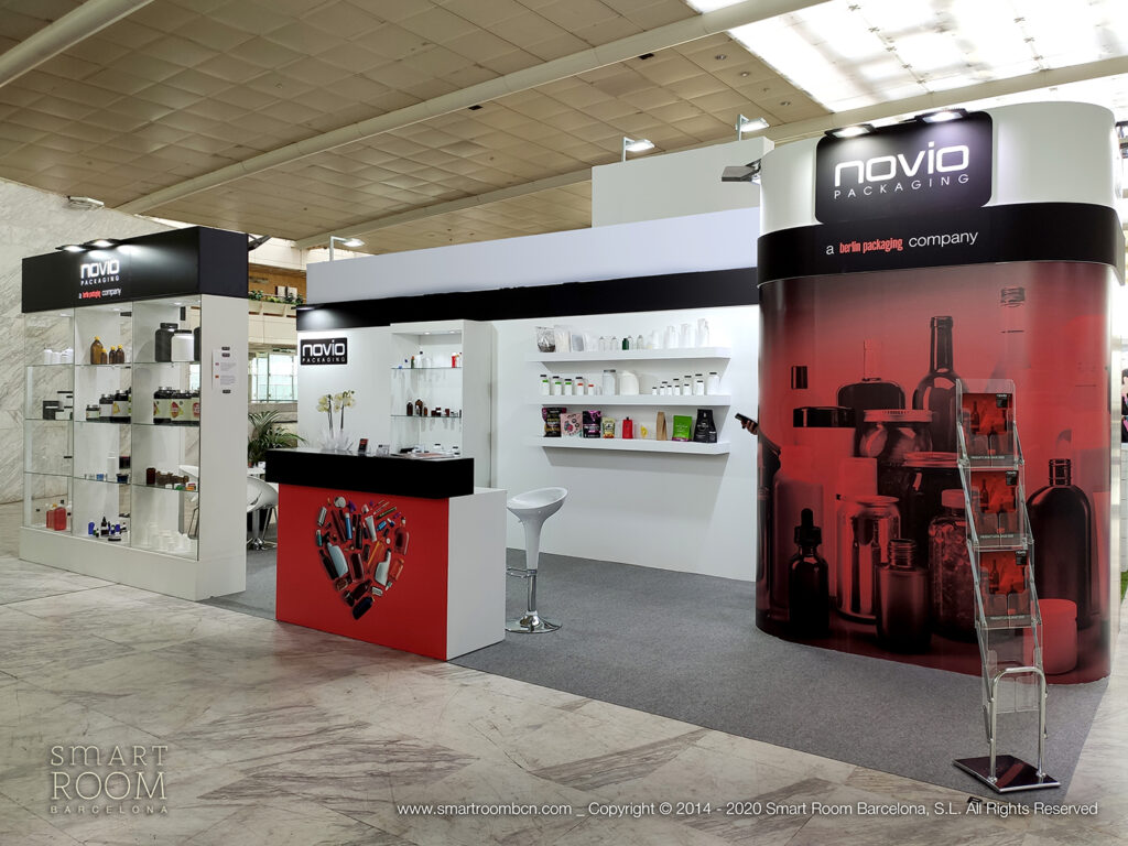 Stand for Novio Packaging at Nutraceuticals Europe