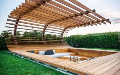 Pergolas: Cool shelters for outdoor leisure or events