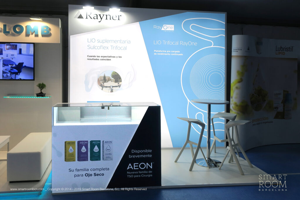 Stand Rayner by Smart Room Barcelona at Facoelche 2019