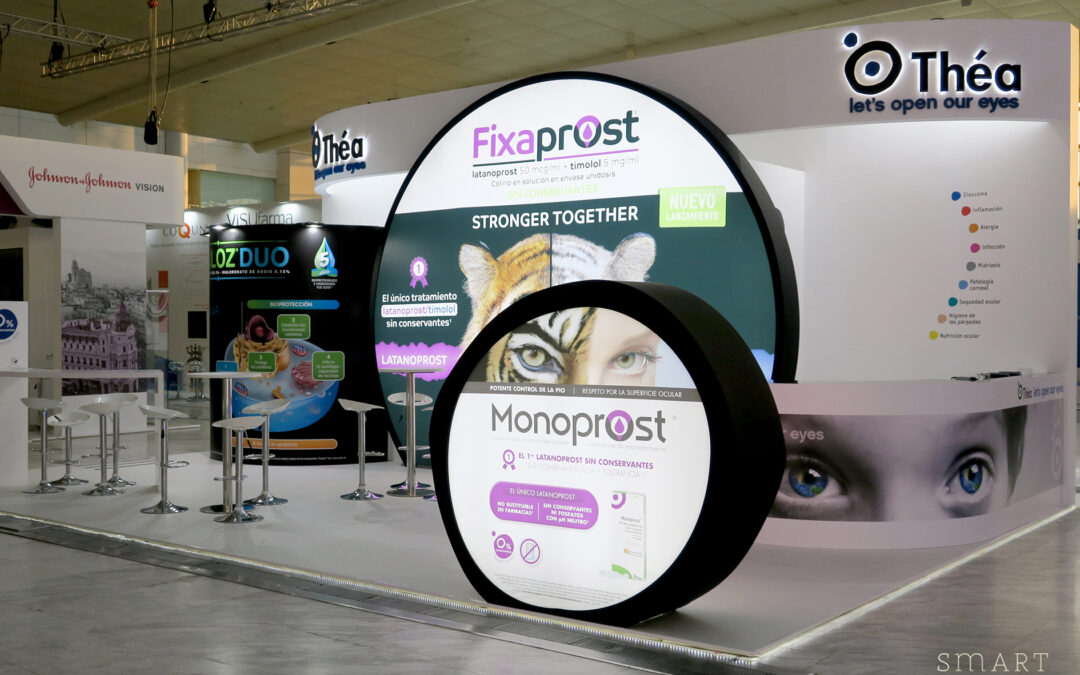 September, a great month: we just delivered 4 stands for the SEO 2019 Congress in Madrid!