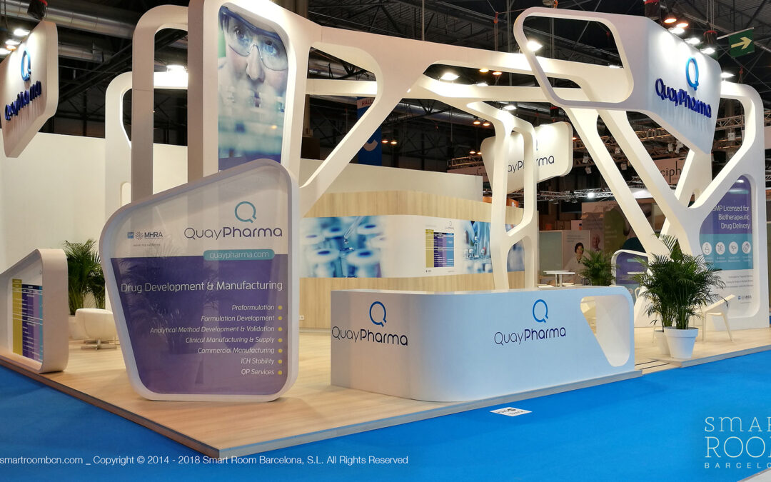Our stands at CPHI 2019 in Madrid: four different booth proposals at a massive event