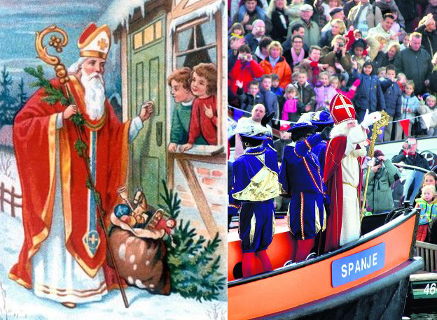 We keep on celebrating events: the arrival of Saint Nicholas
