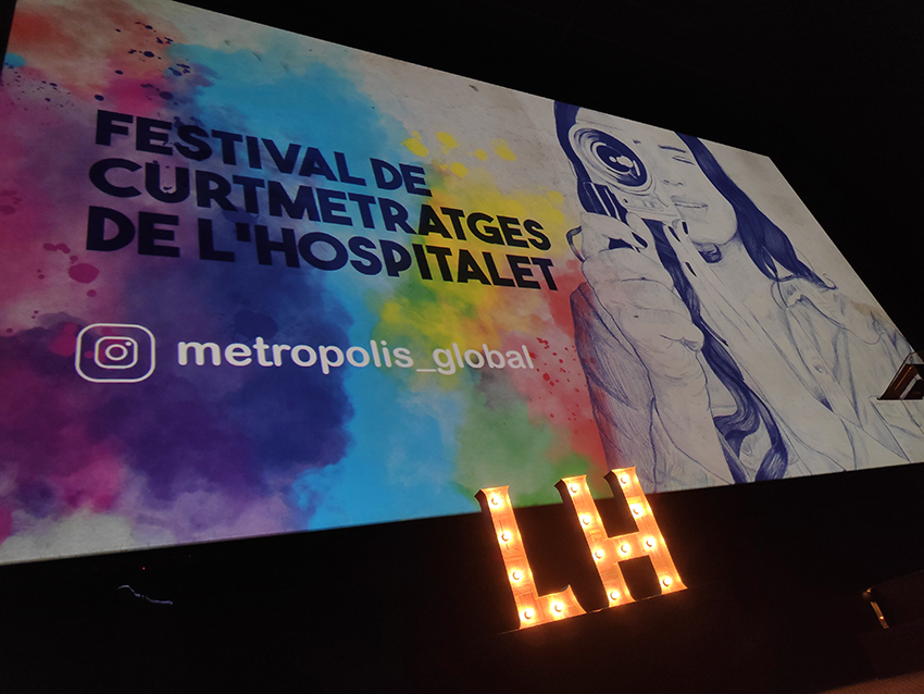 Smart Room Barcelona participated again in the L'Hospitalet Shortfilm Festival