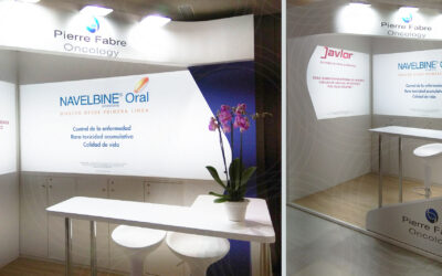 Un stand suave y brillante para Pierre Fabre Oncology