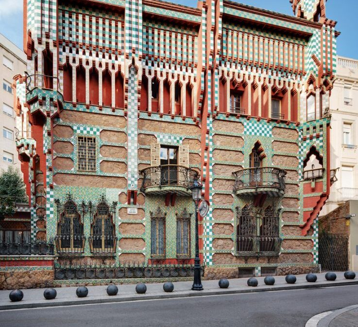 Sources of inspiration: renewed Casa Vicens, by Gaudí