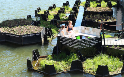 "The ""Recycled Island"": a design project made from plastic waste in Rotterdam"
